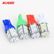2pcs T10 levou 30smd 3014 SMD Car Bulb Car Auto LED 30led 194 W5W T10 Wedge Light Bulb Lamp t10 30SMD luz Branca