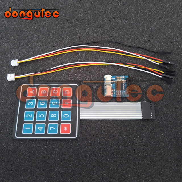 Magnificent Dongutec I2C Keypad Backpack Board I2C Keypad Module 4 X 4 Matrix Wiring Database Redaterrageneticorg