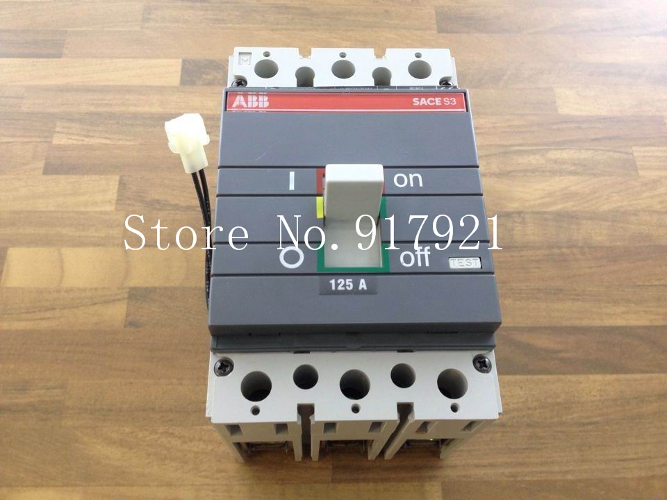 [ZOB] original BKR S3N 125A T/M 530-6530 air switch 3P125A SACE-SS
