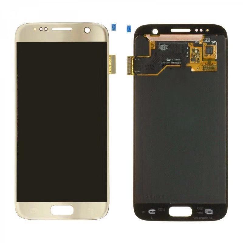 Pour SAMSUNG GALAXY S7 G930A G930F SM-G930F LCD Affichage à L'écran Tactile Digitizer Assemblée Remplacement Pour SAMSUNG S7 LCD + outil
