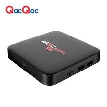 QacQoc M9C max Android 6.0 TV Box Amlogic S905X/Quad-core 64 bits/2G/16G mem/4 k H.265 HDMI 2.0 VP9 HDR Vidéo Décodeur