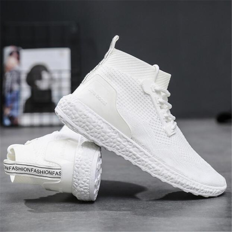 NEW Spring And Summer Fashion Mens Casual Shoes Lace-Up Breathable Shoes Sneakers Mens Trainers Zapatillas Hombre