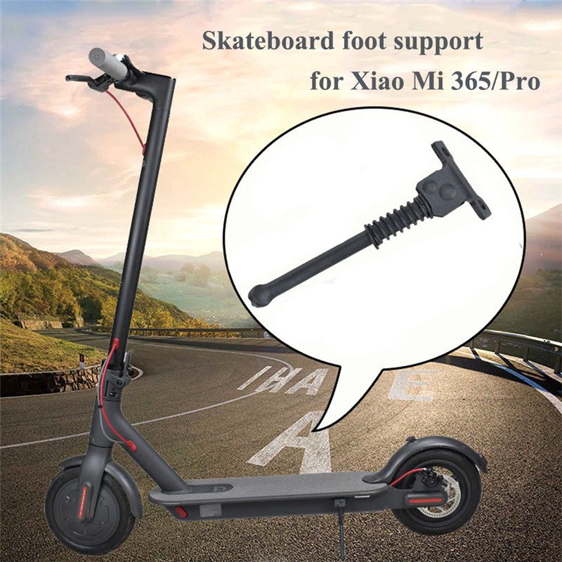 Foot Support For Xiaomi Mijia M365 Electric Scooter Side Kickstand Skateboard Parking Stand