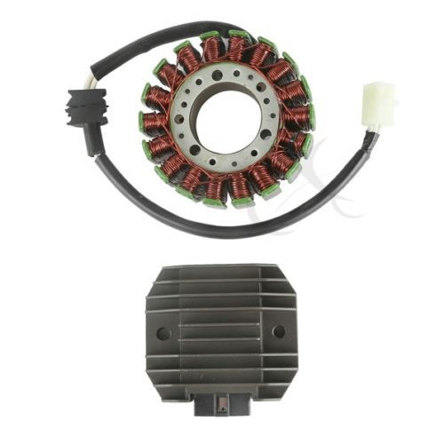 Stator Coil & Regulator Rectifier For Yamaha YZF R6 YZFR6 1999-2002 2000 2001