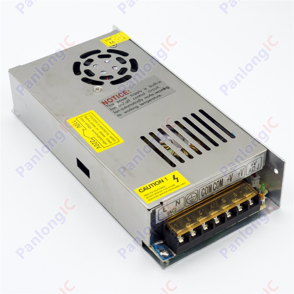 Monitoring Power Switching Power 12V 20A 240W Switching Power Supply Driver for LED Strip Lights AC 110/220V
