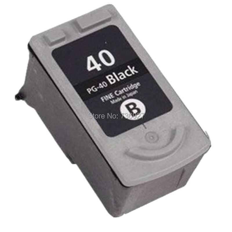 One Black PG40 PG-40 Remanufactured Ink Cartridge For Canon PIXMA iP2200 iP2500 iP2600 MP140 MX300 inkjet printer 3x remanufactured ink cartridge pg40 cl41 pg 40 cl 41 for canon pixma ip1700 ip1800 ip1900 mp470 mp450 inkjet printer