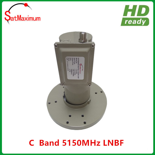 C Band Satellite LNB 5150MHz LNBF 17K Noise figure