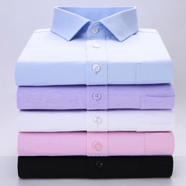 男性シャツ半袖白ドレスシャツブラックオーバーサイズの服プラスサイズの服メンズシャツスューム AVBXCV