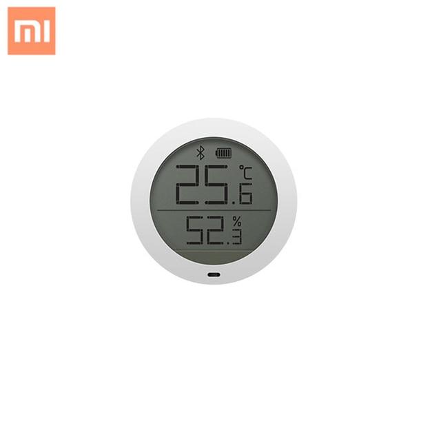 Original Xiaomi Mijia Bluetooth Hygrothermograph Mi Hygrometer Thermometer LCD Screen Smart Home Temperature Humidity Sensor APP