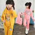 Kids clothing supplier winter coat pants vest 3pcs set 1st birthday outfit for teen girl famous brand warm outerwear sets