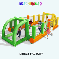 Free Shipping Inflatable Football Field for Kids,Nice Inflatable Game for Family(free blower)