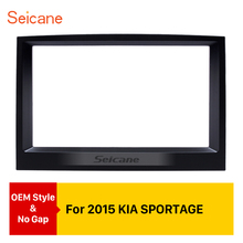 Seicane 2Din 178*100mm Car Radio Fascia Dash Trim Kits Audio Frame Auto Stereo Adapter Bezel For 2015 KIA SPORTAGE