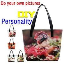 ПОДЕЛКИ эксклюзивный частный заказ сумки мешок подарков творческая личность мешок печати фото сумка