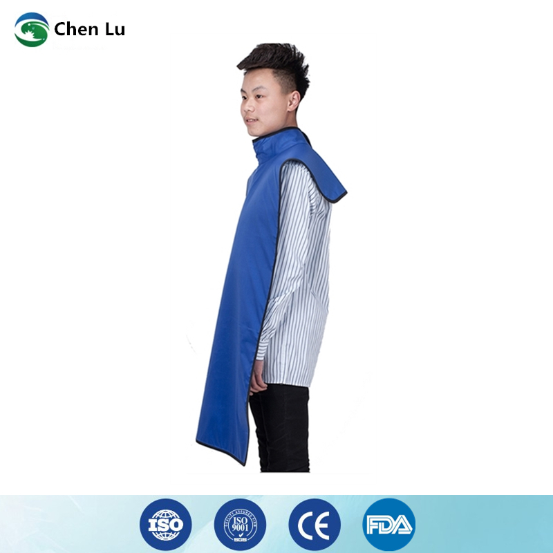 Image 3 - Direct Selling Medical uses of ionizing radiation protection 0.35mmpb high collar lead clothing x ray protective dental apron-in Safety Clothing from Security & Protection