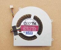 100% Original Laptop CPU Cooling Fan For AVC BAZA0712R5U P002 DC5V 1.5A 4pin notebook Cooler|fans pans|fan ribs|fan bottle -