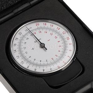 Image 2 - Металлический Профессиональный офтальмологический объектив с часами, базовая кривая оптическая линза, измерительный датчик + чехол в коробке для магазинов очков