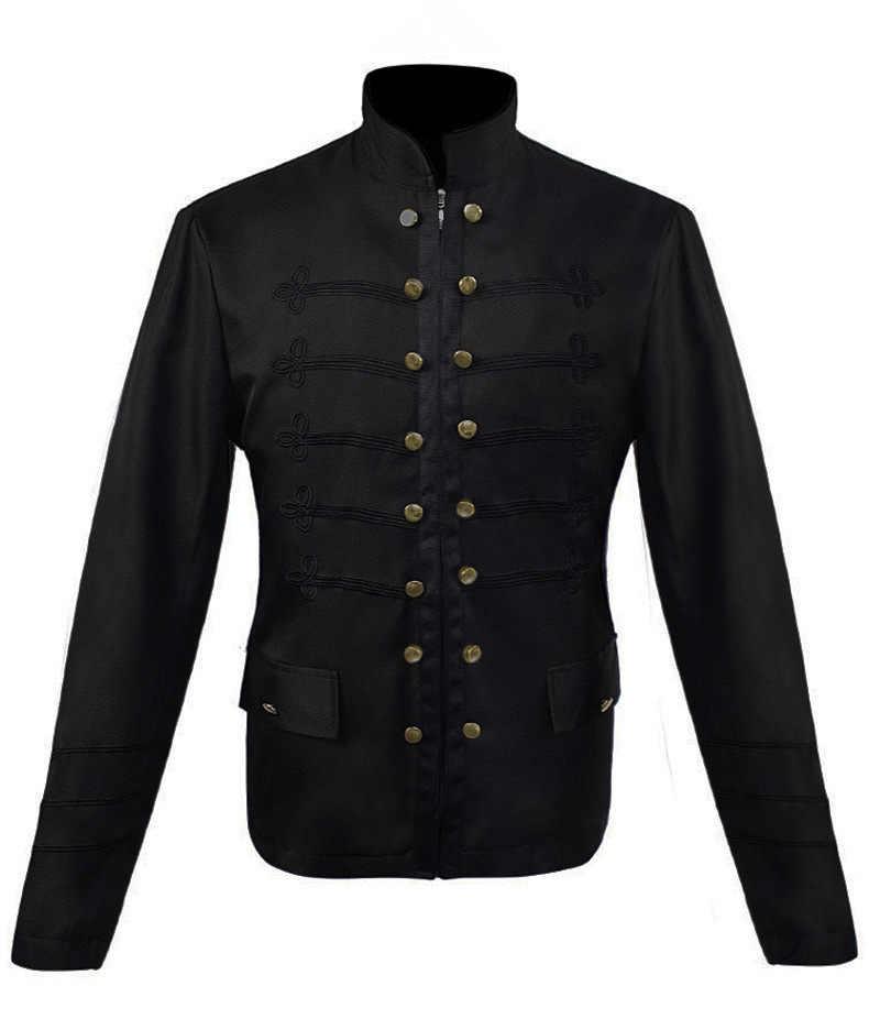 Для мужчин Виктория Эдвардианский стимпанк Тренч платье верхняя одежда Винтаж принц пальто Средневековый Ренессанс куртка, костюм для косплея