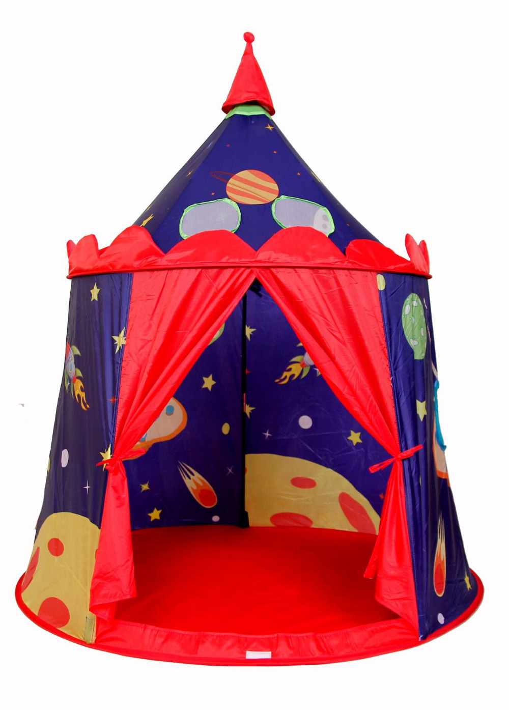 Creative New Design Universe Castle Children Kids Tent Purple Space Castle Game Play House Tents With Balls Safe Play Tents kids gift quality mushroom child tent 50 ocean balls kids game house 5 5 cm wave balls indoor