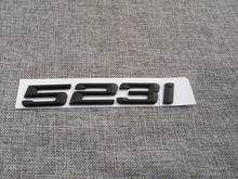 Матовый черный abs знак для багажника автомобиля с цифрами и