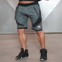2017 Summer Men Shorts Skinny Gymshark Shorts Male Clothing Bottoms Jogger Casual Knee Length Boys Shorts