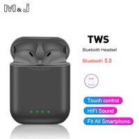 I88 tws Bluetooth 5,0 наушники с сенсорным управлением беспроводные наушники для Iphone Xiaomi airdot PK i10 tws i12 tws i20 lk pods te9