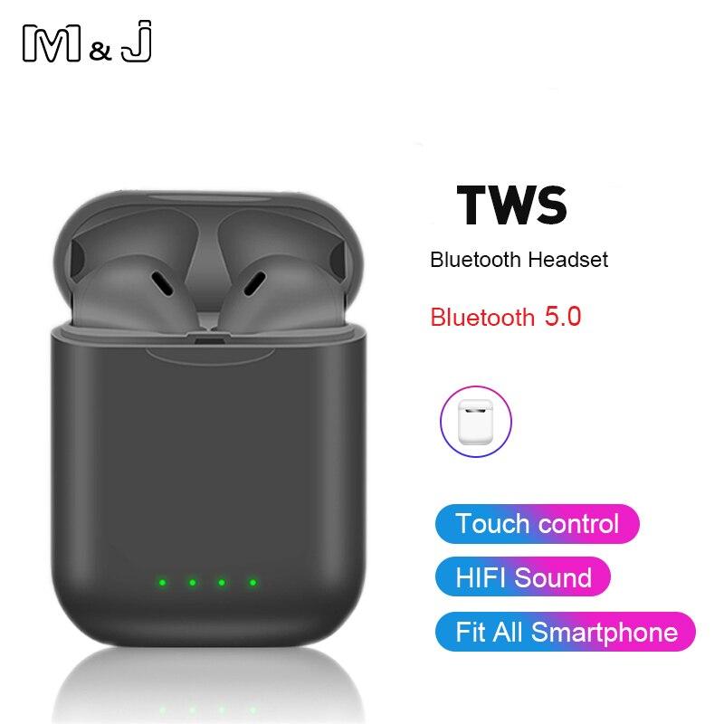 Беспроводные наушники с сенсорным управлением Bluetooth 5.0 для всех типов смартфонов