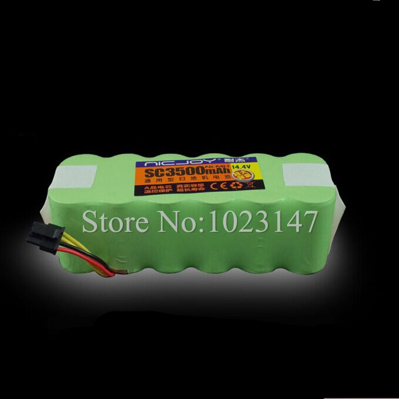(For X500,X550,B2000,B3000,B2005,B2005 PLUS) Battery for Carpet Cleaning Robot, DC14.4V 3500mAh Ni-MH Robot Spare Part for x500 b2000 b3000 b2005 left