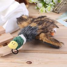 2017 Classic Dog Toys Squeaking Duck Dog Toy Plush Puppy duck for Dogs pet chew squeaker squeaky toy Cachorro Mascotas Toy