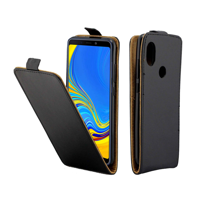 Business Leather Case For Samsung Galaxy A9 2018/A9S/A9 ... Galaxy Star Pro Cover