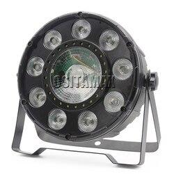 LED Disco lampa Par 9X4W RGBW i 30W COB Par można SMD5050 dmx i pilot zdalnego sterowania na podczerwień dj tanie kryty lampa par dj par puszki w Oświetlenie sceniczne od Lampy i oświetlenie na