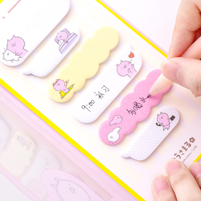 24 pcs/lot Lovely Rabbit Hera Raccoon Memo Pad (24 ชิ้น)