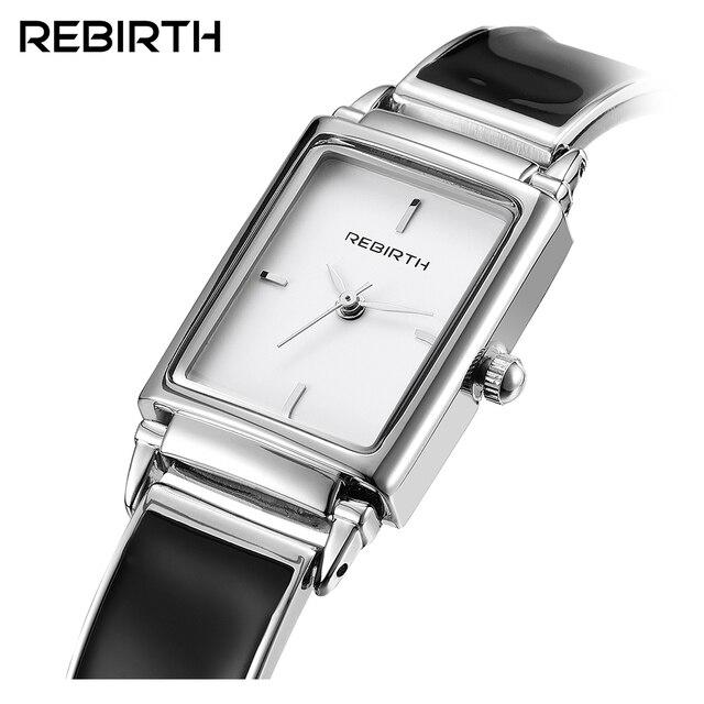 325256b32e6 2018 Relógio De Pulso Das Mulheres Relógios Senhoras Famosa Marca De Luxo  de Prata Quadrado relógio