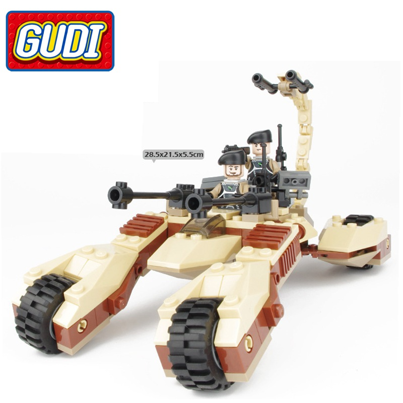 G Model Compatible with Lego G8213 204Pcs Assault Car Models Building Kits Blocks Toys Hobby Hobbies For Boys Girls