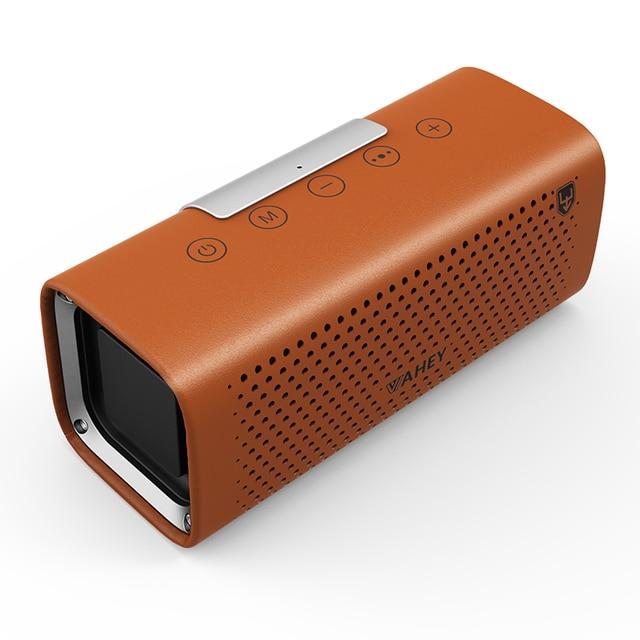 2*10 W frecuencia completa magnética interna 20 núcleos subwoofer súper pesado Betnew V7 4000 mAh Power portátil de cuero altavoz Bluetooth