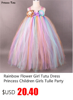 Children Girls Unicorn Tutu Dress Rainbow Princess Kids Birthday Party  Dress Girls Christmas Halloween Pony Cosplay Costume 1-14 1b44244be3dc