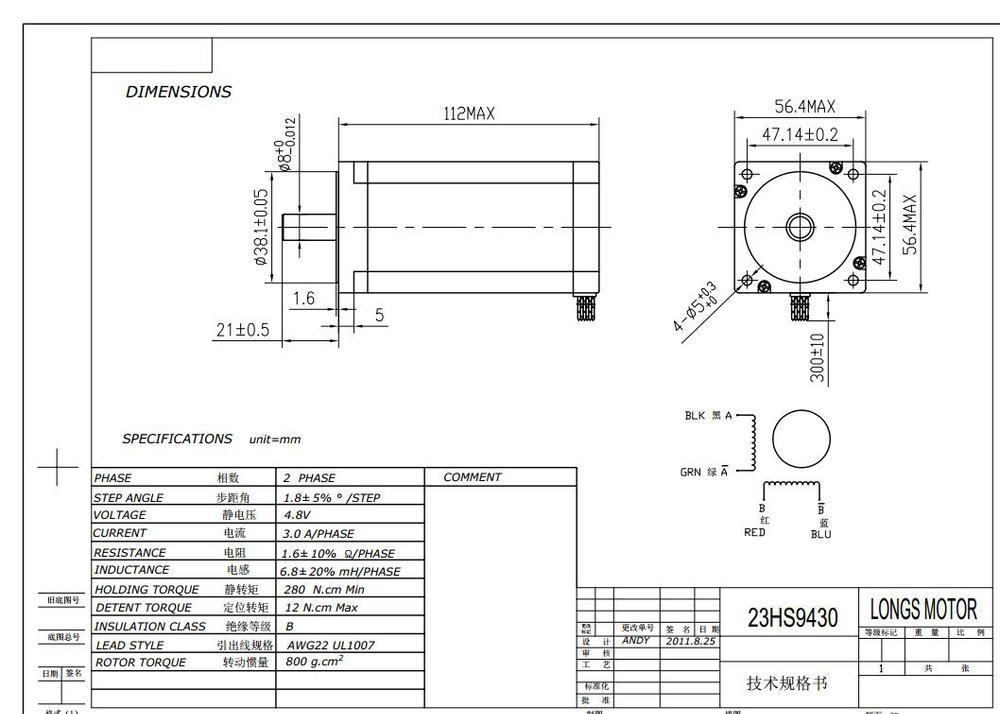 HTB1zc75LpXXXXb7XpXXq6xXFXXXj aliexpress com buy stepper motor 4axis nema 23 425oz in 23hs9430 longs stepper motor wiring diagram at reclaimingppi.co