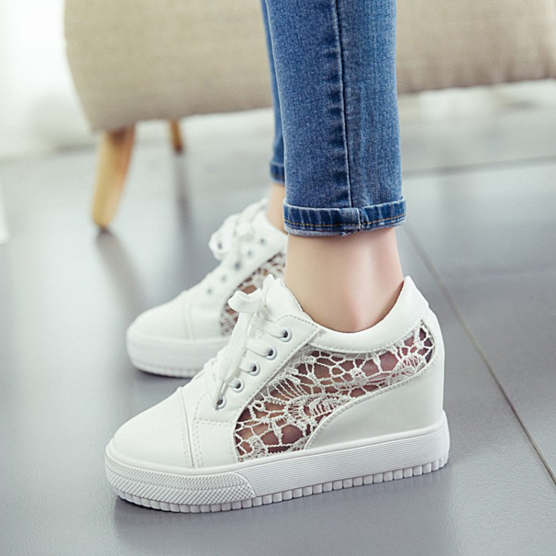 KUYUPP High Top Flats Canvas Women Shoes Espadrilles Spring Women's Patform Breathable Shoes Lace Up Casual Student Shoes BT1004 2017 new spring autumn men casual shoes breathable black high top lace up canvas shoes espadrilles fashion white men s flats