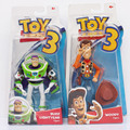 "1Pcs 7"" 18cm Toy Story 3 Buzz Lightyear Woody Figure Toy Collection Model Doll Toys Great Gift"