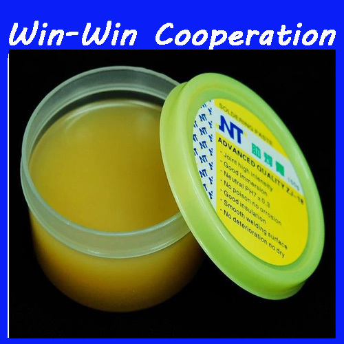 NT ZJ-18 150g Yellow paste Advance Quality Solder Flux Soldering Paste High Intensity Free Rosin high quality pneumatic paste