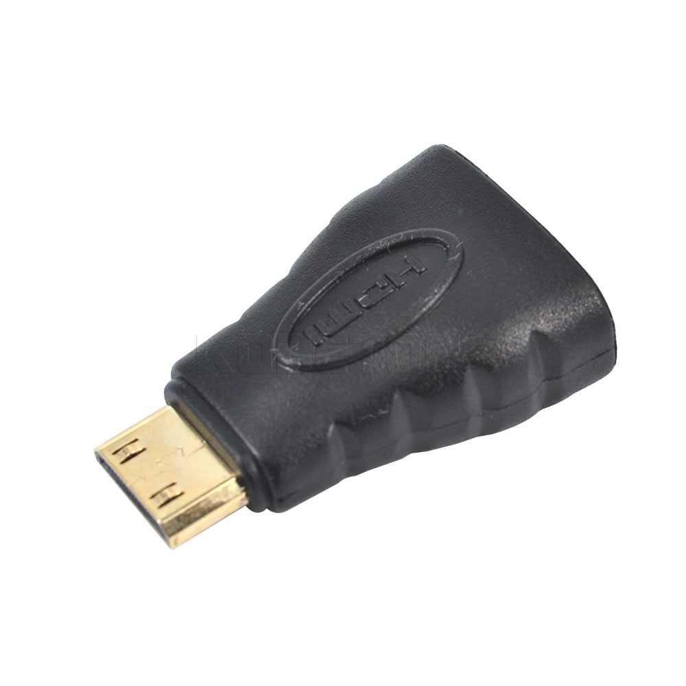 Nuovo 1 set HDMI a Mini HDMI a Micro HDMI HD Oro Adattatore di estensione del Convertitore del Connettore per la TV HDTV di Sostegno 3D 4 K * 2 K