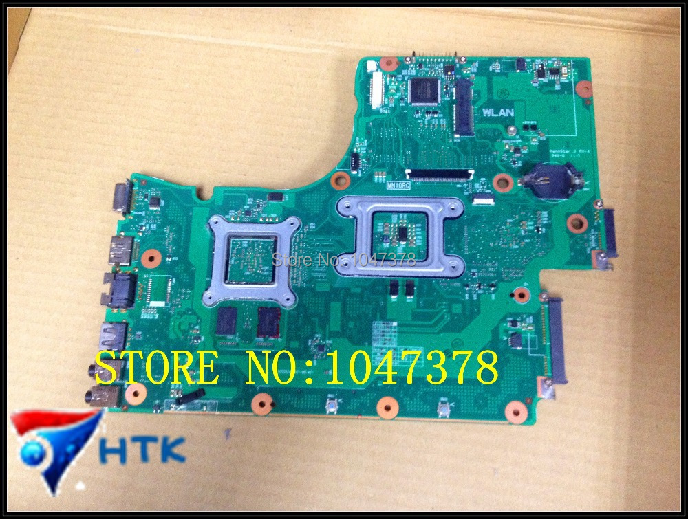 Wholesale V000225180 6050A2452501-MB-A01  For Toshiba C665 C650 laptop motherboard  100% Work Perfect  wholesale v000225020 laptop motherboard for toshiba c650 c655 100