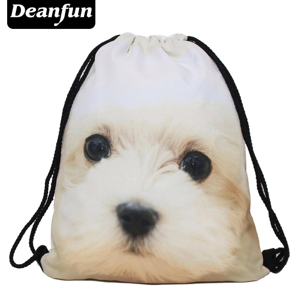 Deanfun 2016 new fashion Women Emoji Backpack 3D printing travel softback women mochila drawstring bag mens backpacks