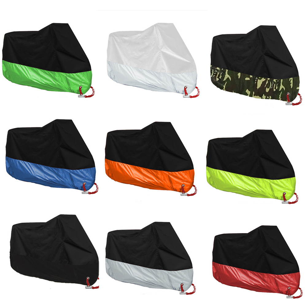 Motorcycle Cover UV Anti Rain Waterproof For Scooter Etanche Bike Cover Waterproof Waterdichte Motor Hoes Motorbike Cover #EC120