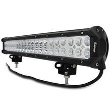 Safego 20 дюймов 126 Вт светодиодный свет работы бар 24 В грузовиков комбо луч внедорожные лампы для трактора лодка внедорожник Авто ATV светодиодный свет бар 12 В