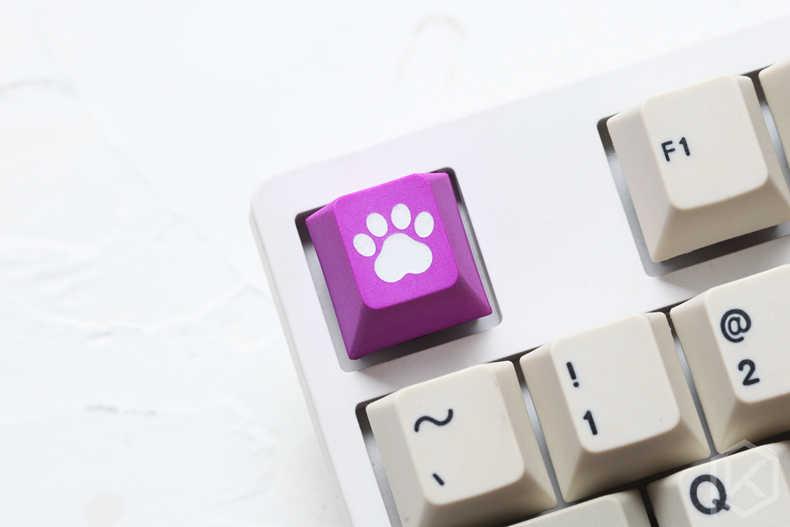 الجدة الكرز الشخصي dip صبغ النحت pbt keycap للوحة المفاتيح الميكانيكية الليزر محفورا أسطورة القط الوسادة r1 1x أسود أحمر أزرق