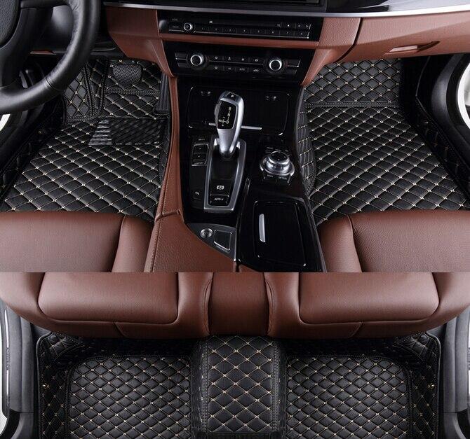 Best качество! Специальные коврики для Toyota Venza 2016 2009 Нескользящие водонепроницаемые автомобиля ковры для Venza 2013, Бесплатная доставка