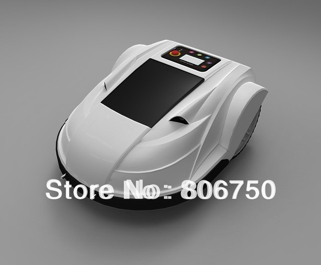 2014 Newest Third generation Subarea setting , Language Selection Robot Grass Cutter With Remote Control,Auto Recharge