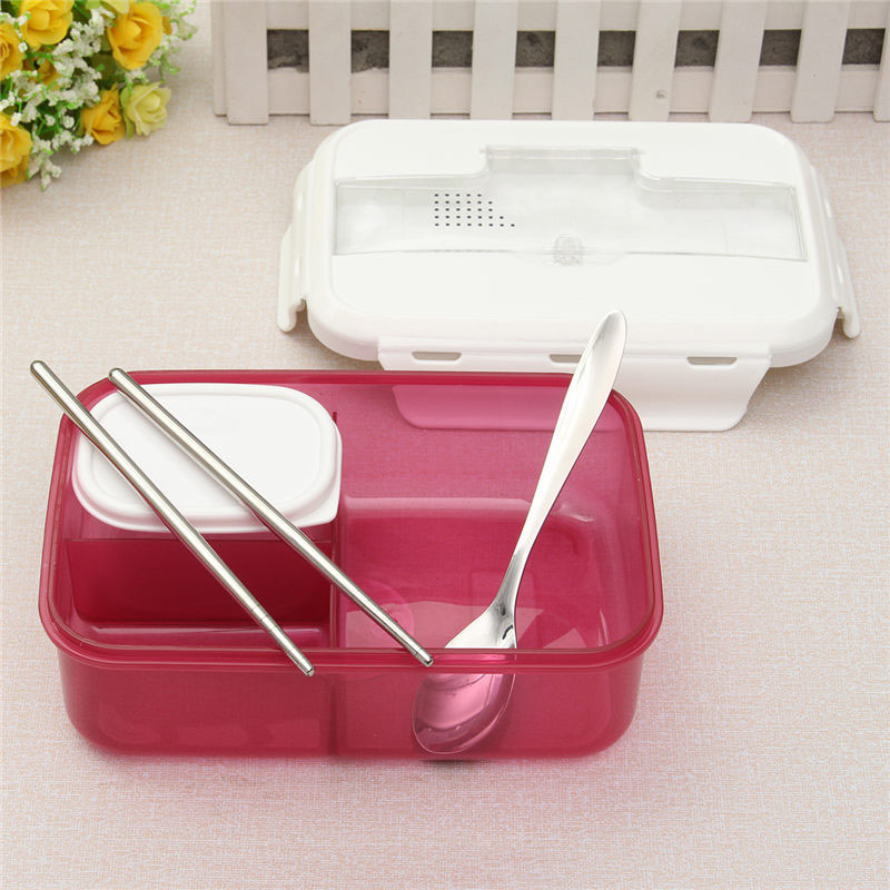 YKPuii Portable Microwave LunchBox Bowl Food Containers