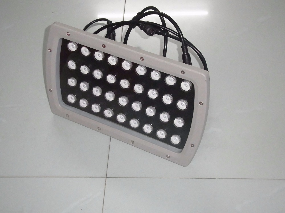 High qulity 36W LED Floodlights IP65 Waterproof outdoor Landscape Lighting DMX512 Control RGB colorful sportlight CREE LEDs CE