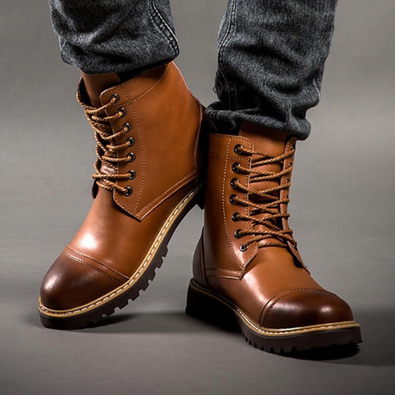 Online Shop 100% Genuine Leather Full Grain Leather 2015 New Men ...
